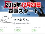 twitterのフォロワー数1万人を100日間で目指す!(1日目)